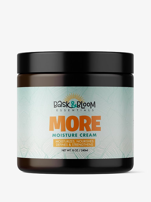 Bask & Bloom                More Moisture Cream