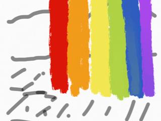 不思議な虹を見せられた話