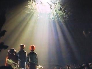 宇宙とのコンタクトは、光から初まる。
