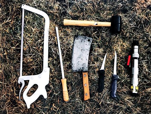 Butcher's tools