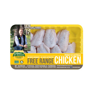 Free Range Chicken Mid-joint Wing