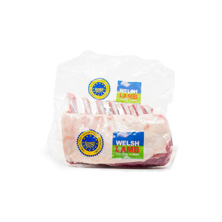 Welsh Lamb Rack 7 Ribs, French Cut