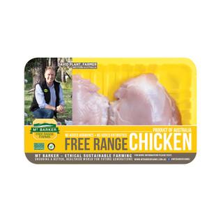 Free Range Chicken Thigh Skinless Boneless
