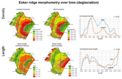 Esker Inventories in the Canadian Shield