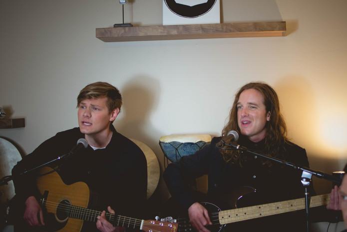 Zach Burger & Aidan Holshoe