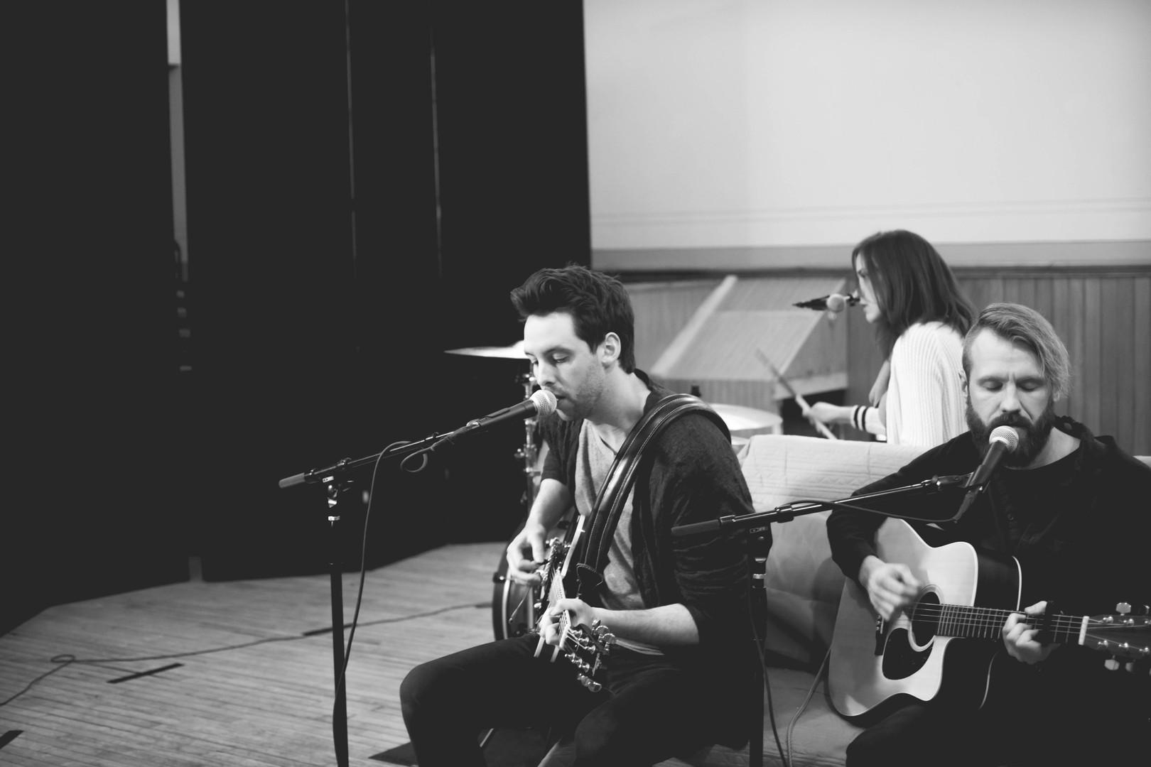 Justin Sorenson, Sam Campbell, and Sarah Koliboski