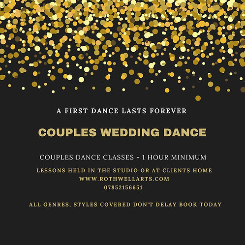 Wedding First Dance Classes