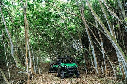 Off-road tour of Gunstock Ranch, Oahu, Hawaii