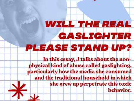 Will the Real Gaslighter Please Stand Up?