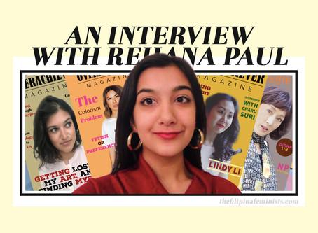 An Interview with Rehana Paul