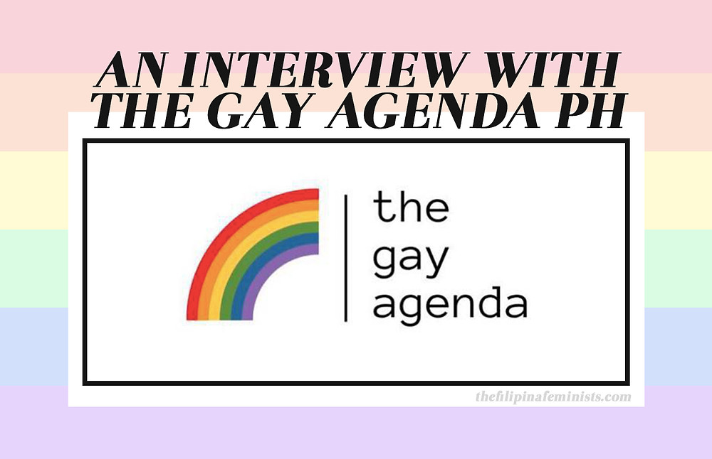 An interview with The Gay Agenda PH cover photo