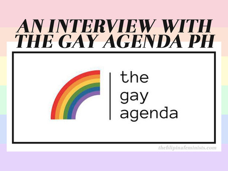 An Interview with The Gay Agenda PH
