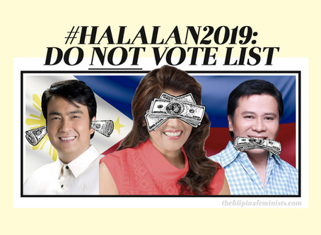 #Halalan2019: Do NOT Vote List