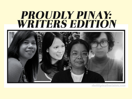 Proudly Pinay: Writers Edition