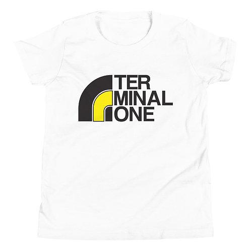 Youth Short Sleeve T-Shirt Terminal 1 Face