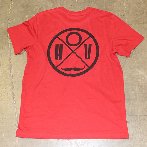 House Of Villains Rondel T. Canvas Red
