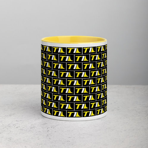 T1 Icon Mug with Yellow Color Inside