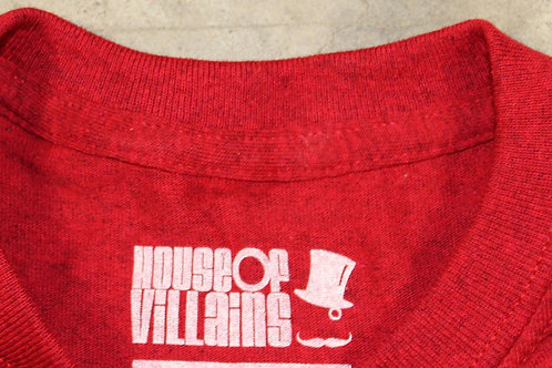 House Of Villains Classic Rondel Antique Red