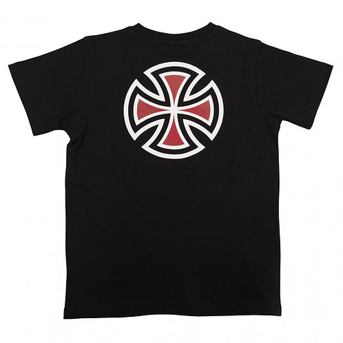 Independent Youth T-shirt bar Cross 12-14yrs