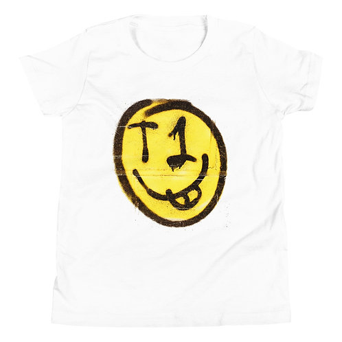 Youth Short Sleeve T-Shirt T1 Smiley