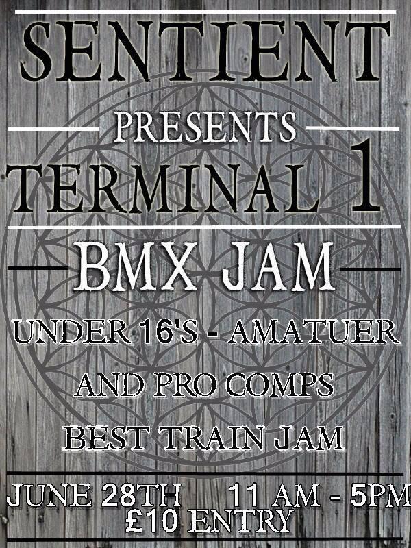 Sentinent BMX Jam #terminal1skatepar