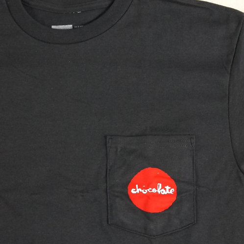 Chocolate Skateboards, Red Dot Pocket T