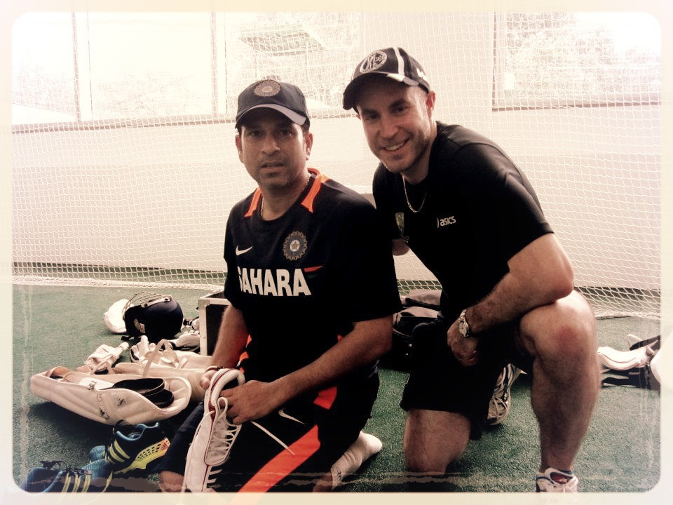 Net Session with Indian Test Squad