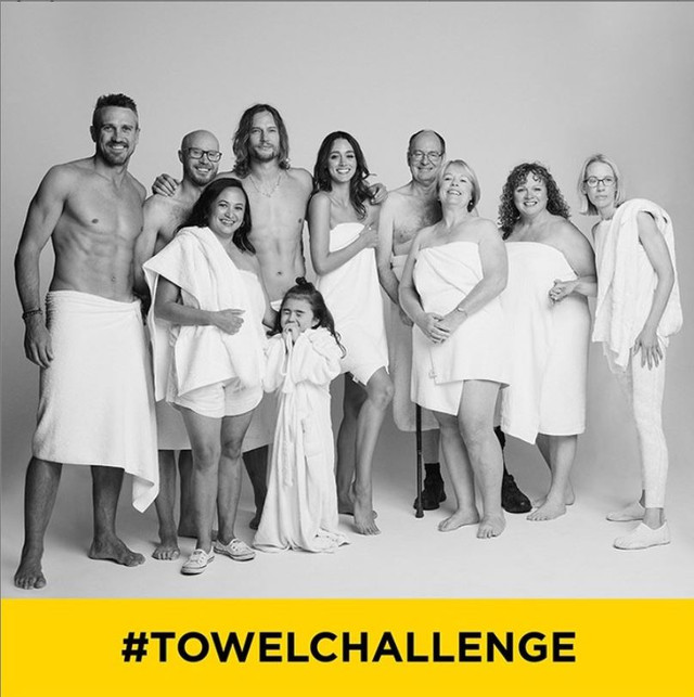 The Survivor Stroke Towel Challenge