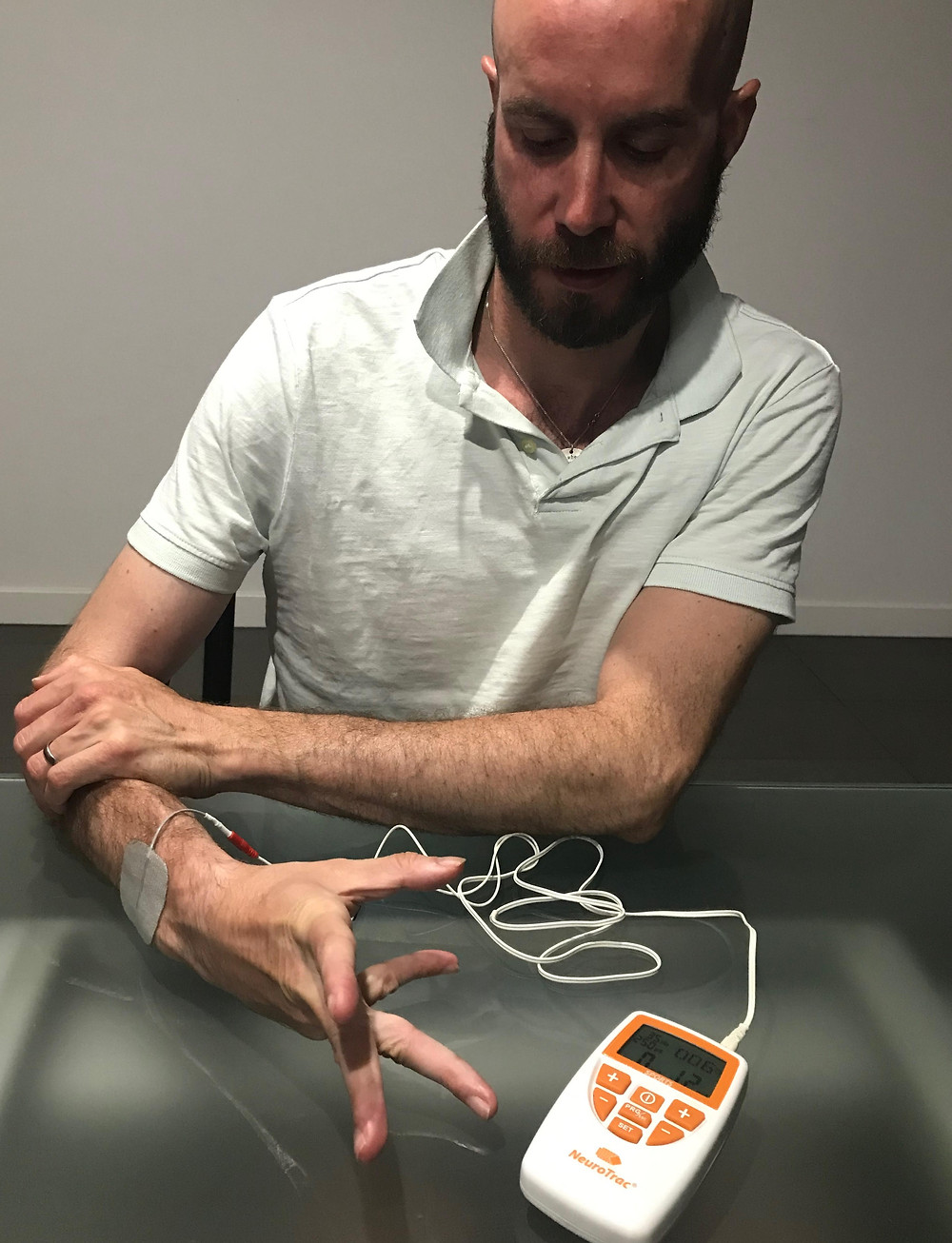 My electrical muscle stimulation machine