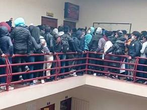 Lista de los Estudiantes ante la cruel tragedia UPEA