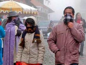 Alerta de Fuerte Frio Emitido Por Senamhi