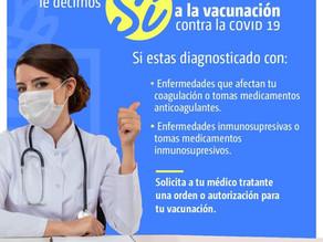 Puntos de Vacunación Determinado Para Mayores De 18 Años, Según Umss