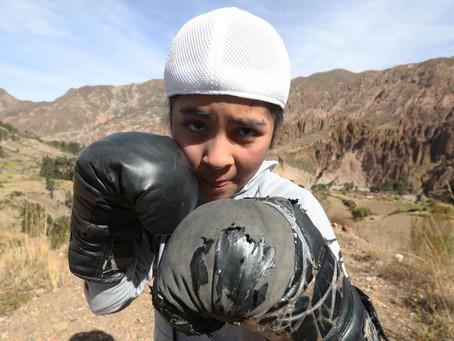 Orgullo del Boxeo. La Niña ´´Mano de Piedra´´