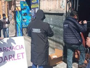 Trafico De Medicamentos En Bolivia En Contra De Covid-19