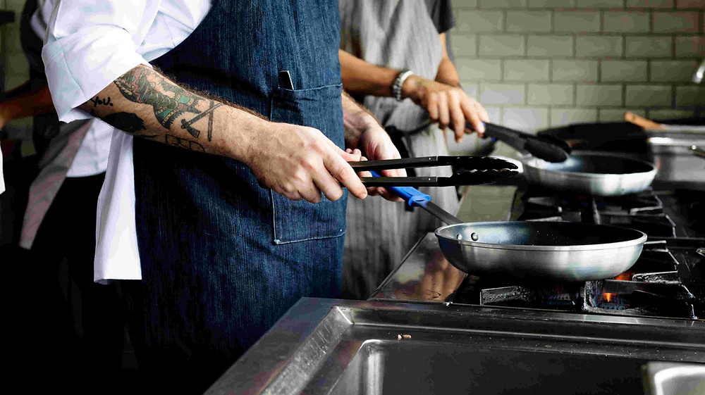 Chef cuisinier moderne