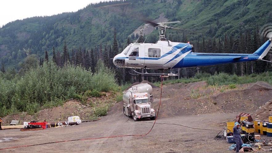 AVIATION-chopper-in-air