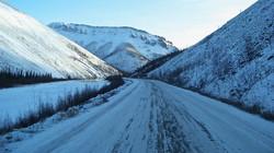 MINING-snow-road
