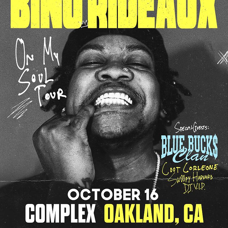 On My Soul Tour: BINO RIDEAUX