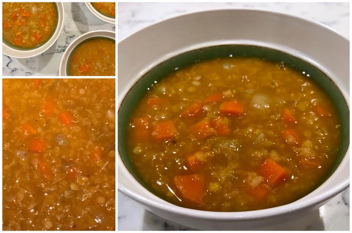 Zesty Lentil-Tomato Soup