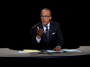 Holt's Debate Shenanigans Bloody Trump, Disqualify Clinton