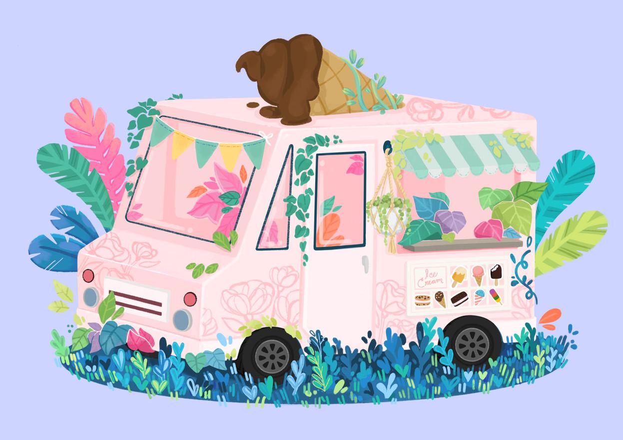 Overgrown Ice Cream Truck