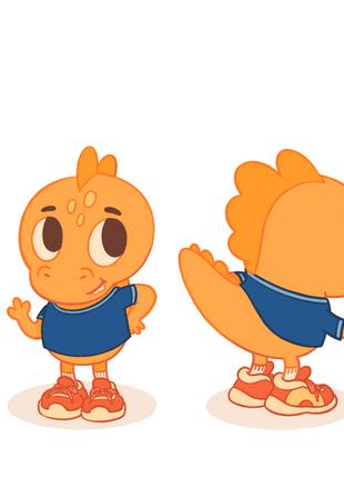 Cheesasaurus Rex Mascot Redesign
