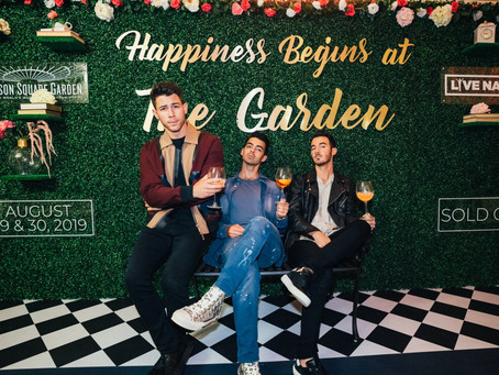 Jonas Brother's #HappinessBeginsTour sells out their 1st night at the Garden arena in NYC