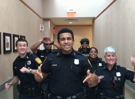 Norfolk Police Department Inspires Millions with Bruno Mars Lip Sync