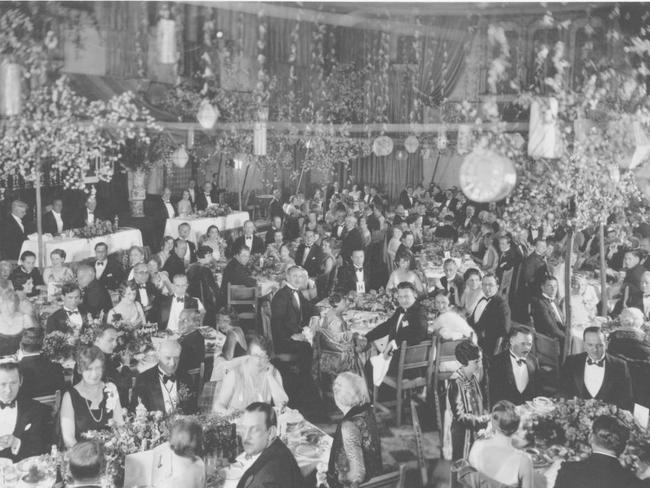 Held in the Blossom Room of the Hollywood Roosevelt Hotel