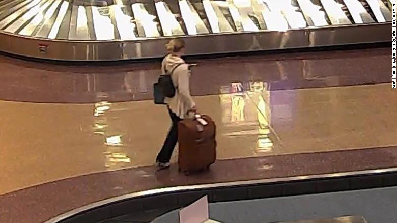 Missing Utah college student seen at airport before her disappearance