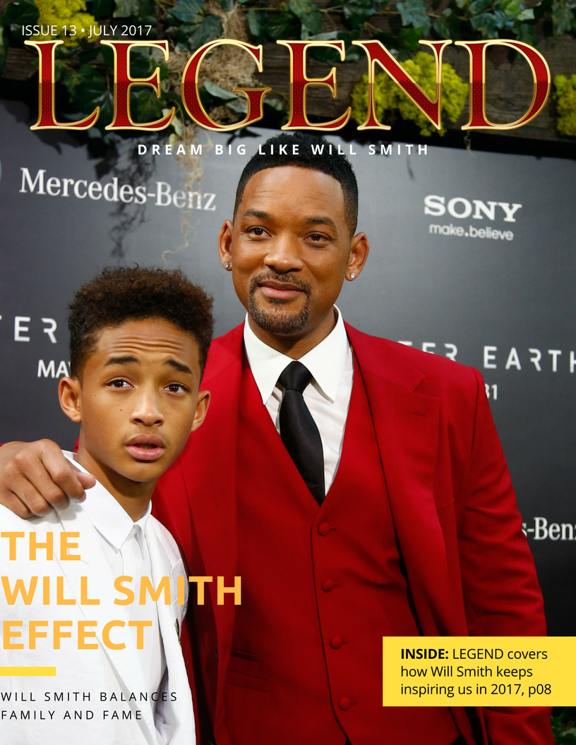 Will Smith Issue, Legend Mens Magazine