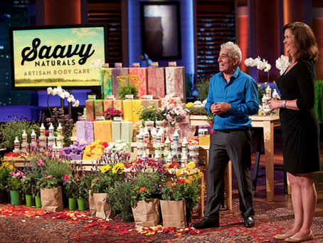 From Shark Tank to brand name -Saavy Naturals brings luxury and health to the world of  body treatme