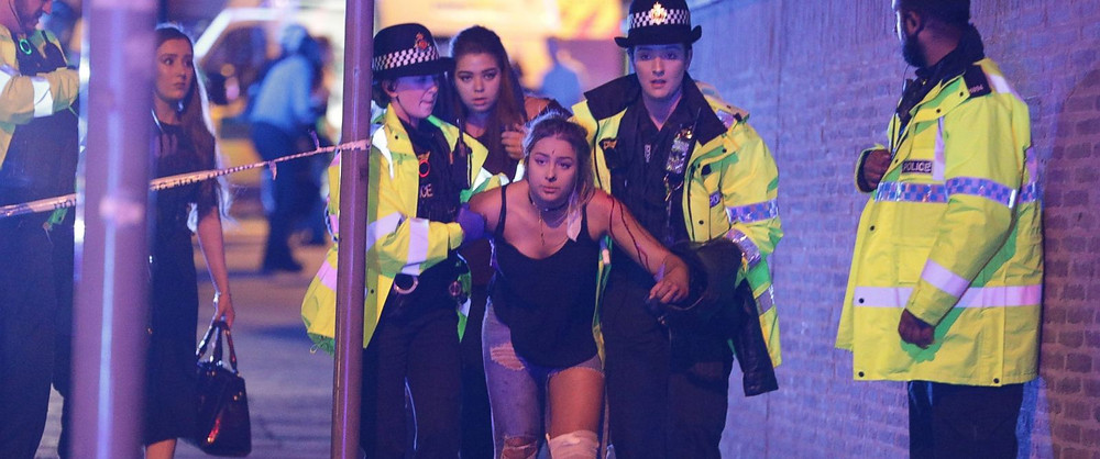 At Least 20 Dead After Explosion At Ariana Grande Concert , Breaking News, LEGEND