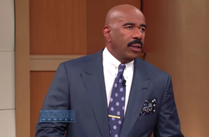 Steve Harvey Get's Schooled In Grammer By Guest and He's Not Having It, Legend Mens Magazine, Celebrity News